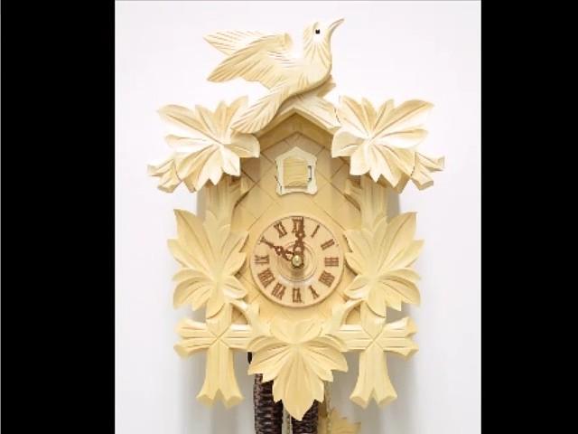 Cuckoo Clock<br>Five Leaves, Bird