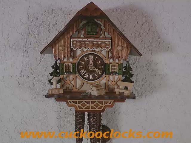 Cuckoo Clock<br>Little black forest house 1.0260.01.C