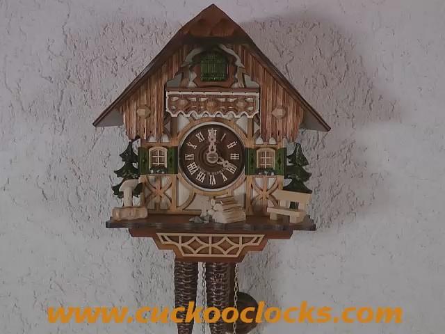 Kuckucksuhr<br>Kleines Schwarzwaldhaus 1.0260.01.C