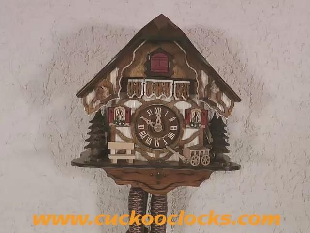 Часы с кукушкой<br>Маленький Шварцвальдский дом