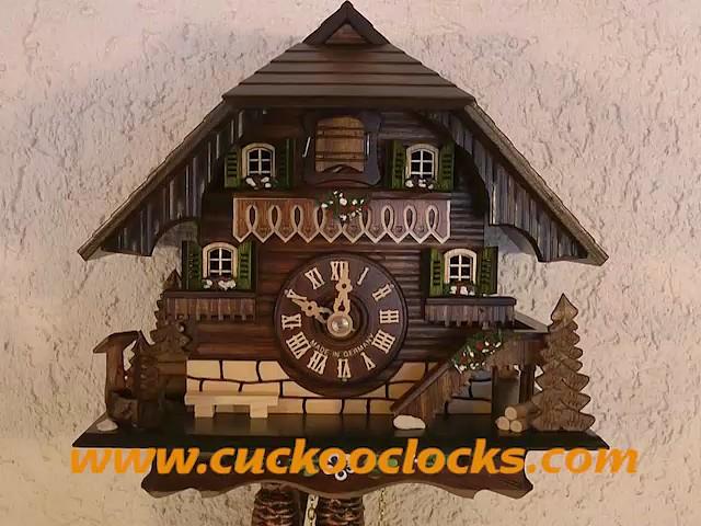 Reloj cucú<br>Casa pequeña de la selva negra 1.0312.01.C