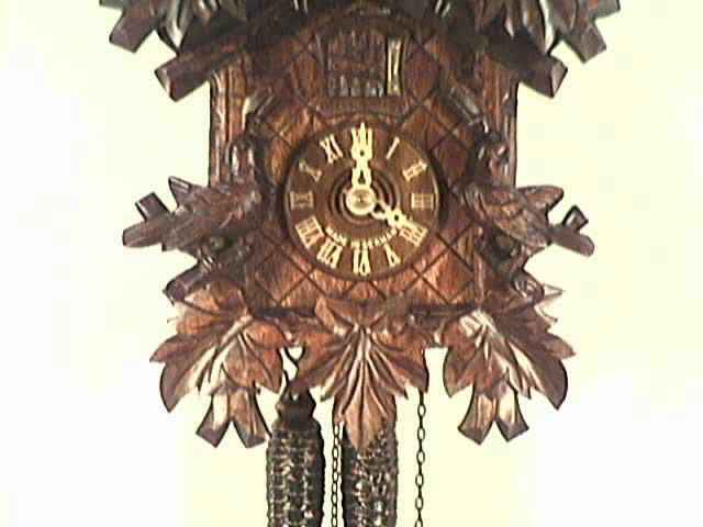 Relógio de Cuco<br>Três Pássaros