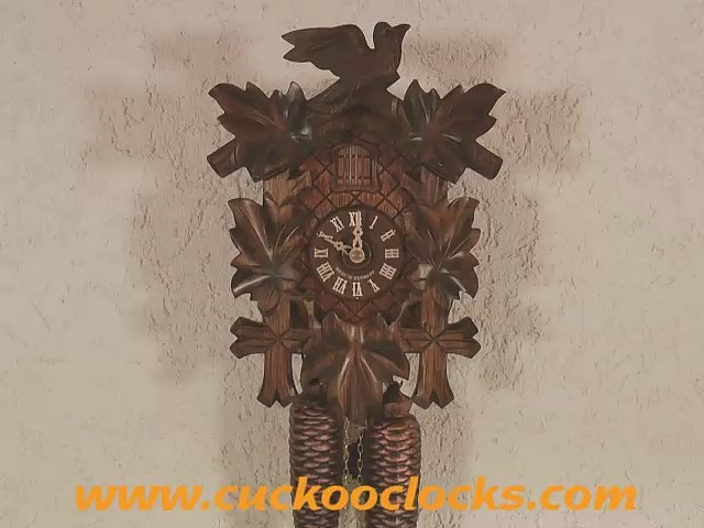 Cuckoo Clock<br>Five Leaves, Bird 2.0070.01.C