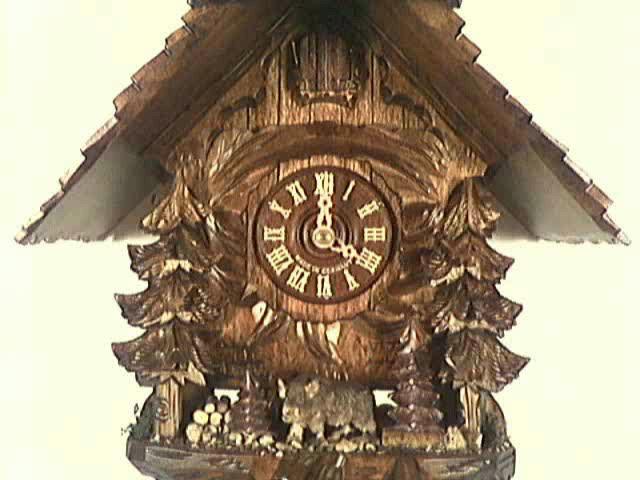 Cuckoo Clock<br>Wild pig