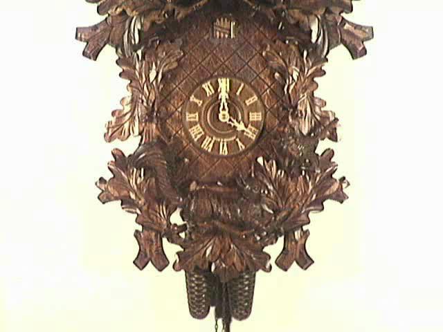 Cuckoo Clock<br>Squirrel, Eagle, Bird