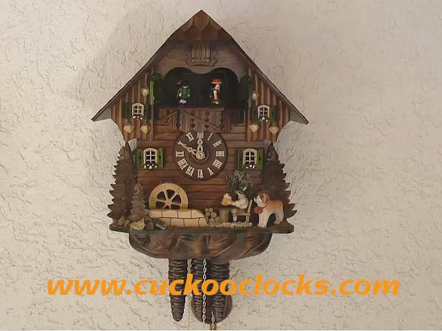 Cuckoo Clock<br>Mill Wheel, Beer Drinker