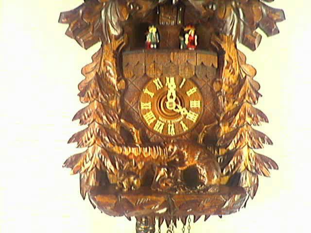 Cuckoo Clock<br>Ibex, badger, rabbit