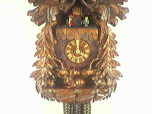 Relógio de Cuco<br>Águia, Familia de coelhos
