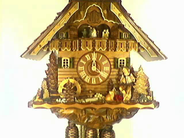 Cuckoo Clock<br>Musician, Mill Wheel
