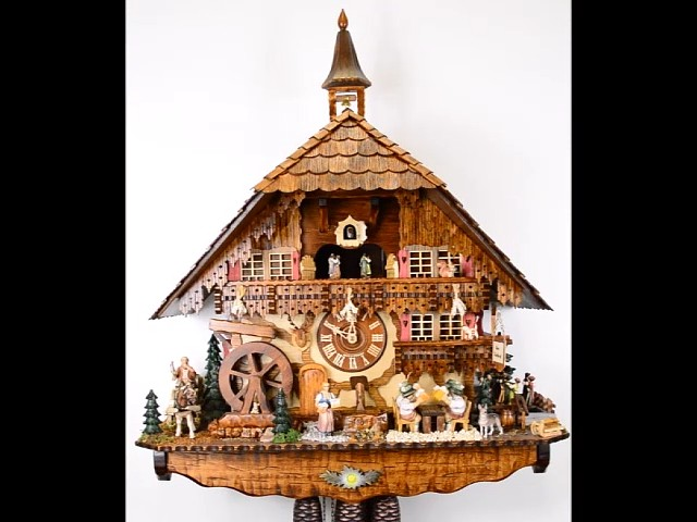 Cuckoo Clock of the year 2017<br>Inn to the cuckoo 5.8879.01.P