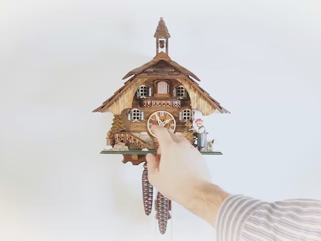 Cuckoo Clock<br>Little black forest house EN 44414