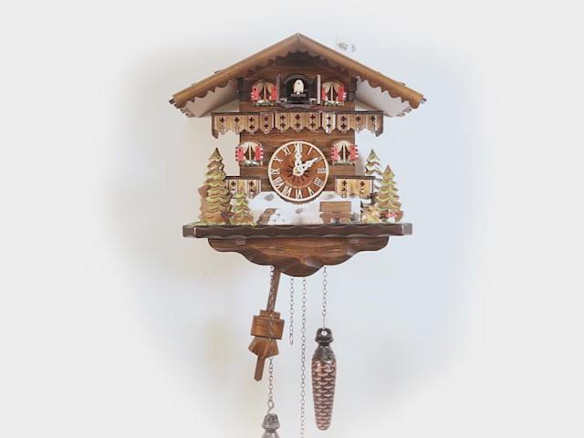 Relógio de Cuco de quartzo<br>Casa da Floresta Negra EN 458 Q