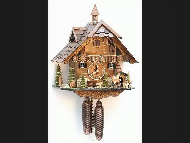 Часы с кукушкой<br>Шварцвальдский дом, движущихся качели