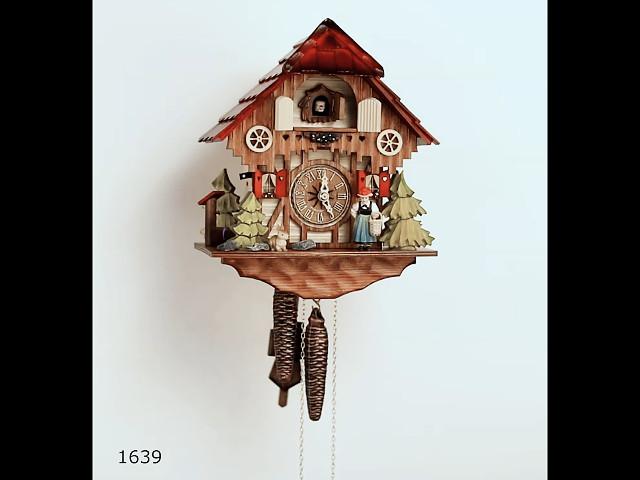 鳩時計<br>小さなシュヴァルツヴァルド(黒い森)の家