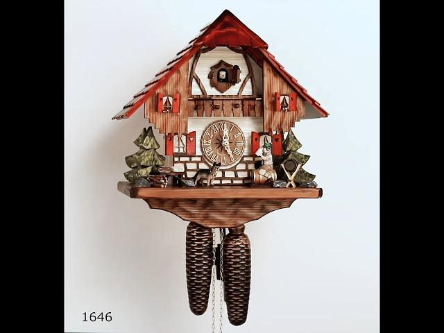 ساعة الكوكو <br> بيت الغابة السوداء مع شارب البيرة المتحركه