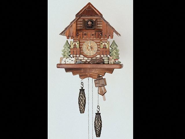 Кварцевые часы с кукушкой<br>Шварцвальдский дом