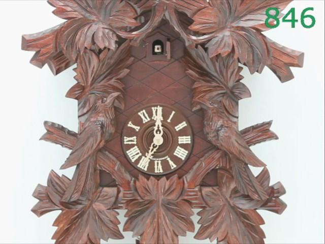 Cuckoo Clock<br>7 leaves, 3 birds