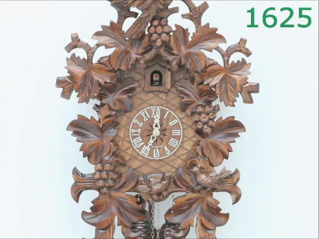 Cuckoo Clock<br>10 leaves, 3 birds