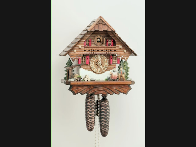 Reloj cucú<br>Casa de la selva negra KA 861 EX