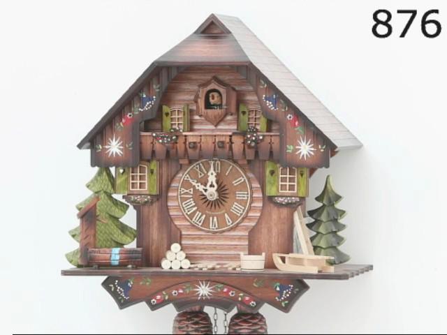 Reloj cucú<br>Casa de la selva negra KA 876 EX