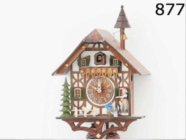 Pendule à coucou<br>Maison de la Forêt-Noire KA 877 EX