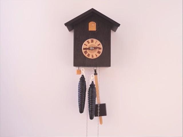 Design orologi a cucù<br>Meccanismo a 1 giorno